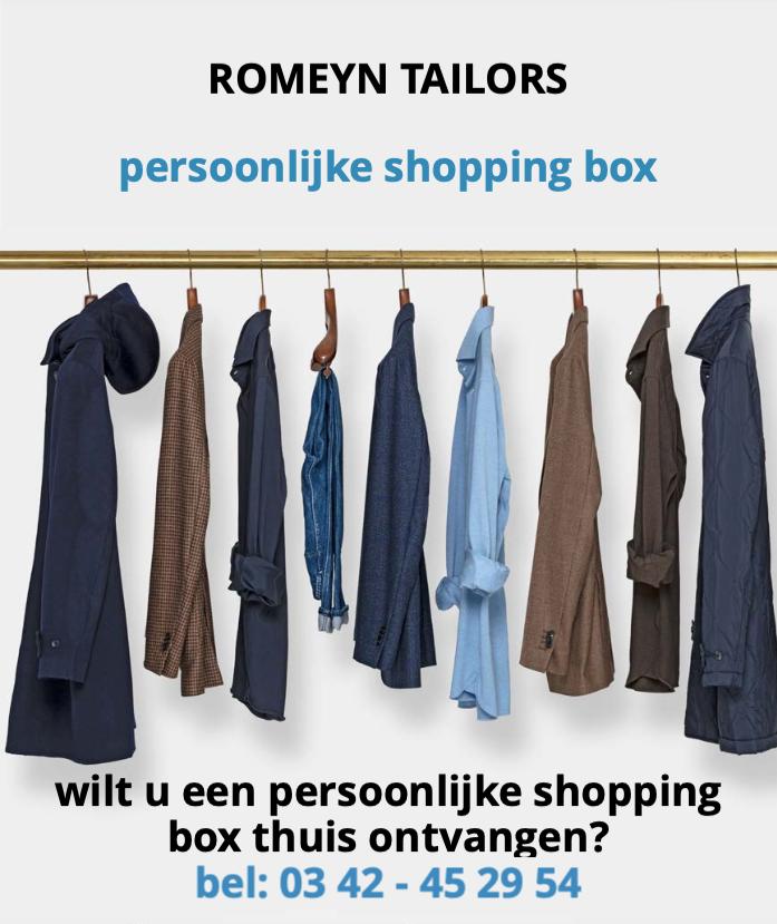 Personal shopping box