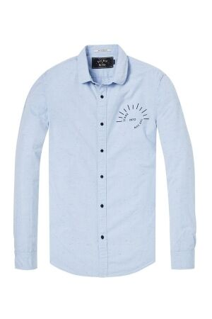 Scotch & Soda Overhemden casual Scotch & Soda 142524